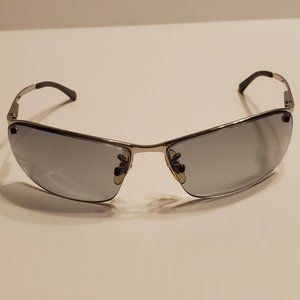 Ray-Ban RB3183 003/11 Half Rim Wrap Sunglasses
